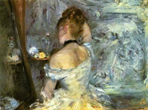 Berthe_Morisot_Signora_che_fa_toletta