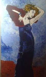 dipinto di Giampiero Bini